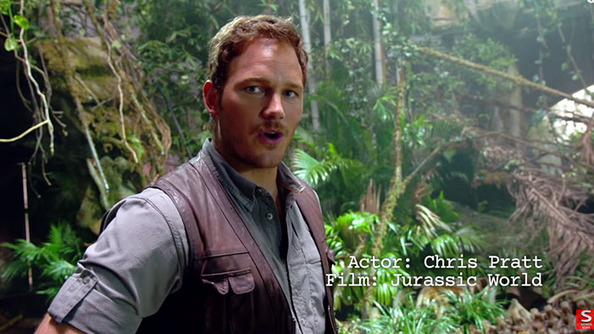 "Chris Pratt Busts Out ALL the Moves in <i>Jurassic World</i> ""Stunts 101"""