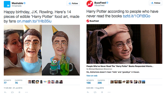Feast Your Eyes on Some Incredible 'Harry Potter' Food Art in This Week's Geeky Twitter!