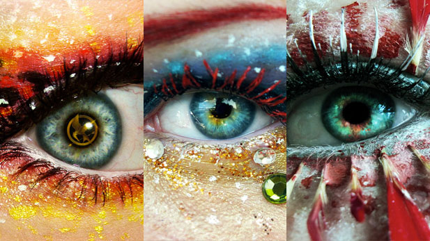 Incredible Eye Art!
