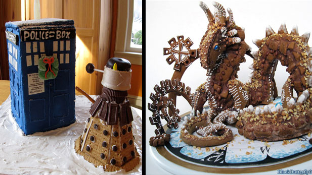 Geeky Holiday Gingerbread Art!