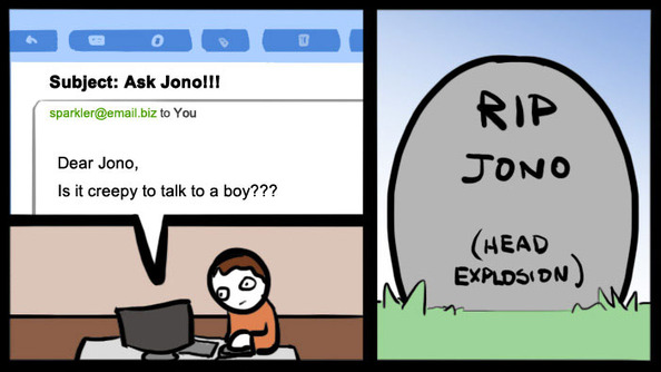Ask Jono: Can I Approach This Boy Without Being Creepy?
