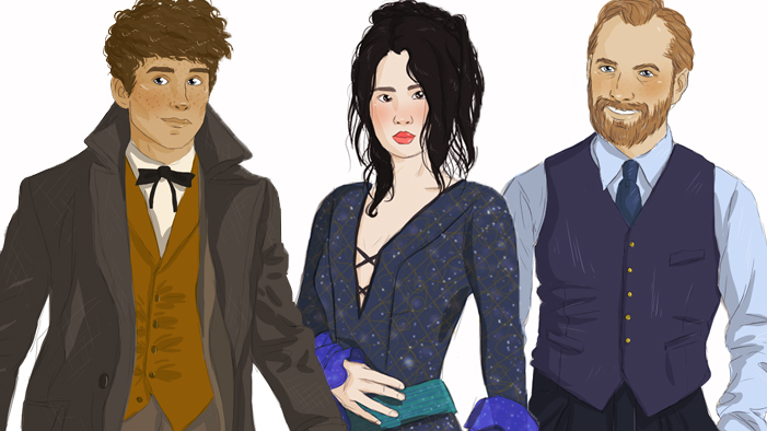 13 Magical Illos of the Characters In <em>Fantastic Beasts & Where to Find Them: The Crimes of Grindelwald</em>