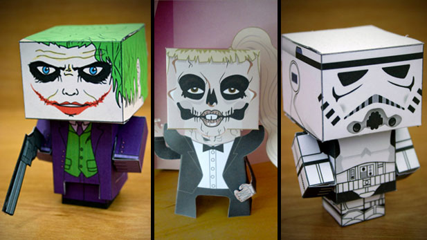 Crazy Cute Creations Called Cubecraft!