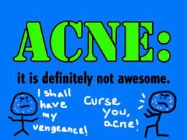 Let's All Punch Acne Until It Dies