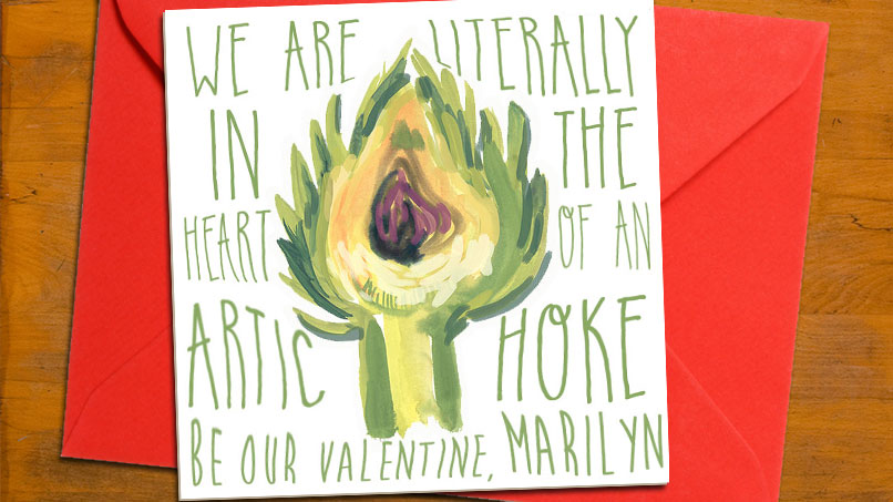 DELIVERY! We Have Valentine's Day Cards JUST FOR YOU, BUTTS