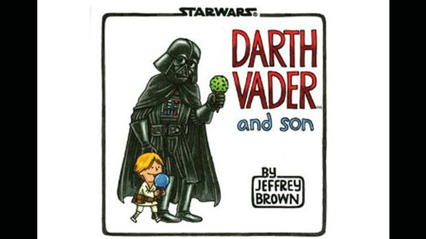 Darth Vader as a... Domestic Dad?