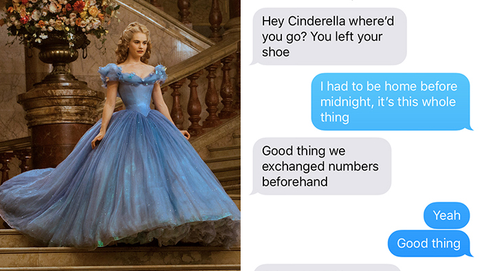 10 Fictional Problems That Could Have Been Solved with a Text Message
