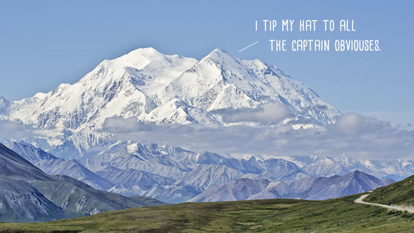 Mount McKinley Renamed Denali (Thanks, Obama! No, Really. Thank You)