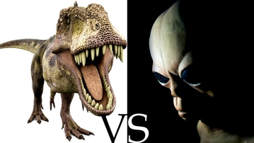 Holy Nerd Explosion! Prepare for Dinosaurs vs Aliens!
