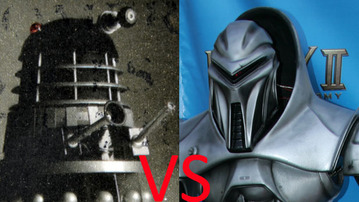 MindHut SciFi Smackdown 7: Daleks versus Centurion Cylons