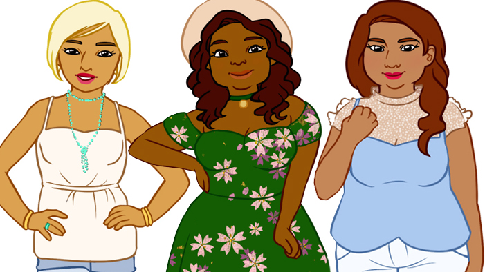 We Brought Body Diversity to Classic Lit & We're in Love with the Results