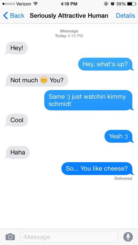 when to flirt text