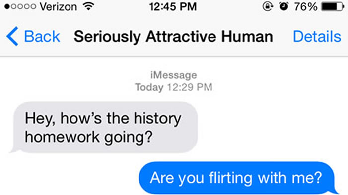 How to be flirty on text