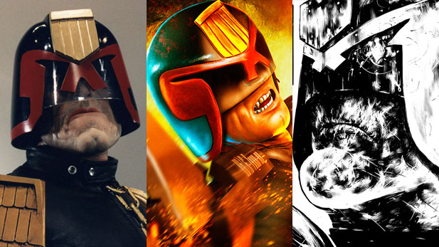 Judge Dredd Fan Art Slideshow!