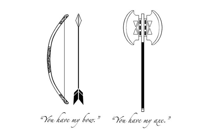 you can find printable versions of the harry potter tattoo here supremes here hunger games here hamilton here and lord of the rings here enjoy