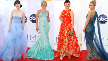 Red Carpet Style at the 2012 Emmys