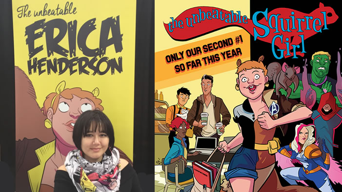 <i>Squirrel Girl</i> Illustrator and #GirlBoss Erica Henderson Talks Female Empowerment at NYCC