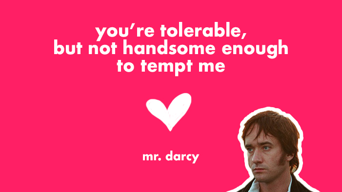 Valentine's Day Cards from Fictional Characters