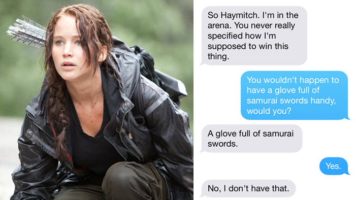 If Fictional Characters Could Text, PART FIVE