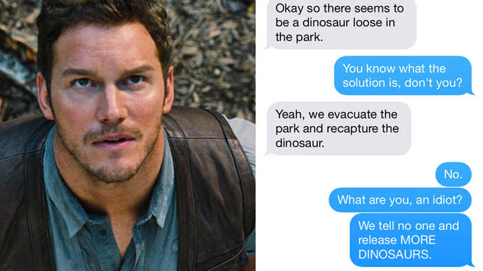 If Fictional Characters Could Text, PART SIX