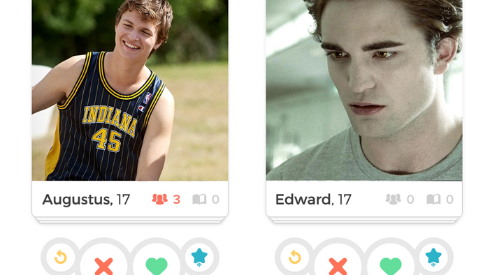 Who's Your Literary Tinder Match?