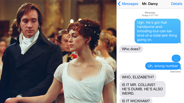 If Fictional Characters Could Text, PART FOUR