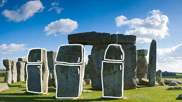 We KENT EVEN with This Stonehenge Made out of Refrigerators