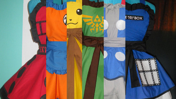 These Awesome Aprons Make Kitchen Time Geek-mazing