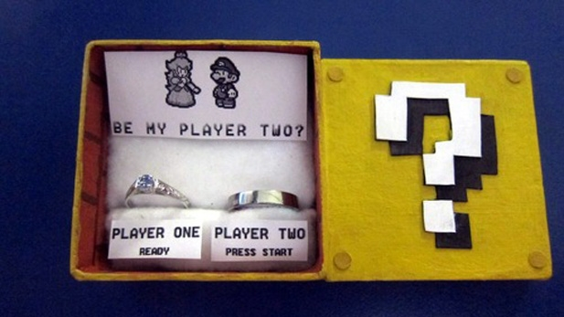 Geek Wedding Proposal