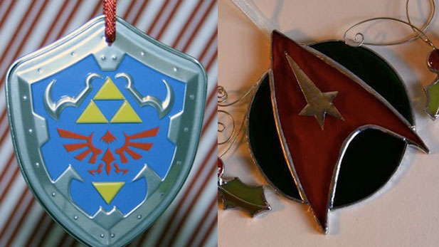 Make Your Tree A Geekmas Tree With These Ornaments!