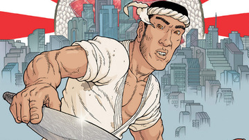 "Chef Anthony Bourdain Writes a Graphic Novel: ""Get Jiro!"""