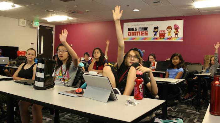 At This Summer Camp, Girls Learn To Make Games!