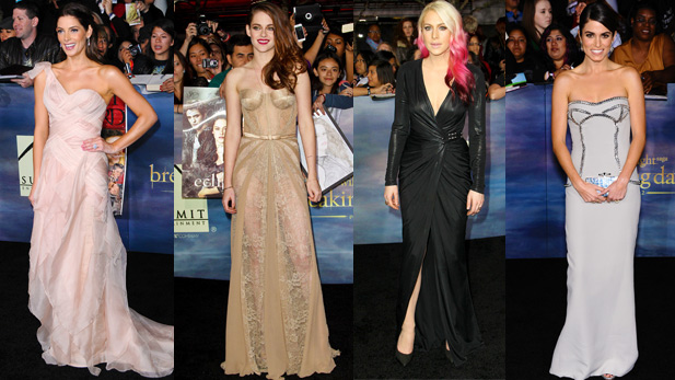Gorgeous Gowns at the Breaking Dawn Part 2 Premiere