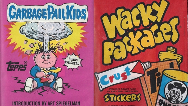 BOOK REVIEW: Garbage Pail Kids and Wacky Packs