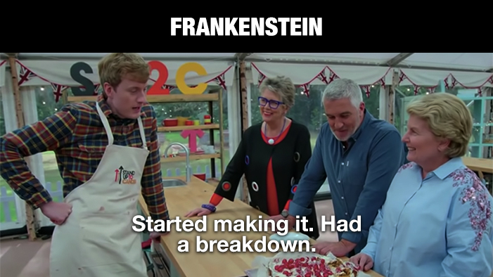 Every Book on Your English Syllabus Summed Up in Quotes from <i>The Great British Bake-Off</i>