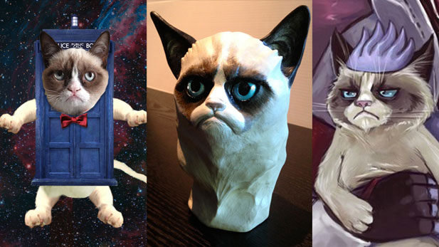 Super Adorbs Grumpy Cat Fan Art!