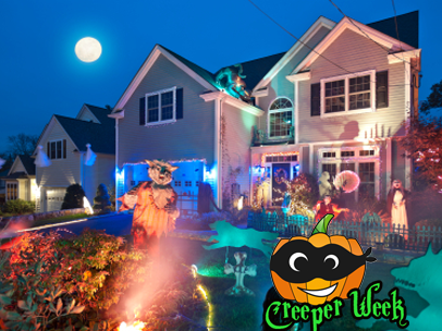 are these the coolest halloween decorations ever - Unusual Halloween Decorations