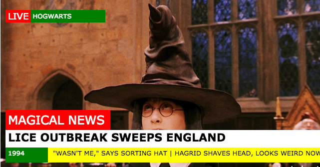 Headlines From the Wizarding World