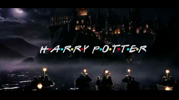 This <em>Harry Potter</em>/<em>Friends</em> Crossover Is BLOODY BRILLIANT