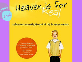 heaven is for real essay Heaven and hell this essay heaven and hell and other 63,000+ term papers, college essay examples and free essays are available now on reviewessayscom.