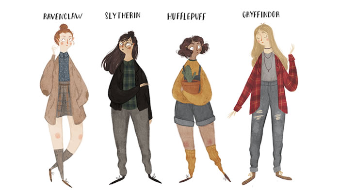 Hogwarts Houses Hex the Patriarchy