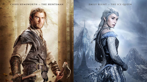 <em>The Huntsman: Winter's War</em> Character Posters Are Making All the Awesome Alarms in Our Eyes Go Off!