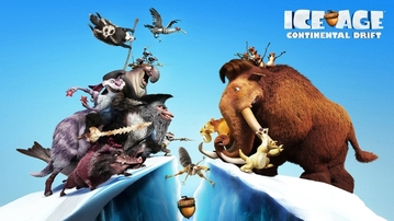 GEEK MOVIE REVIEWS: Ice Age 4 Continental Drift