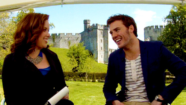 EXCLUSIVE Video: Chelsea Dagger Interviews Sam Claflin About Snow White and the Huntsman!