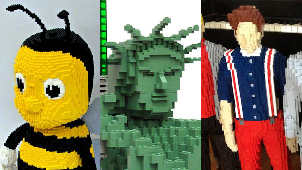 Check Out This Insane Lego Artist!