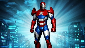 BREAKING: Iron Patriot in 