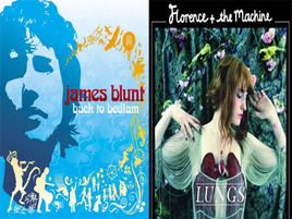 Video War: Florence + the Machine Vs. James Blunt