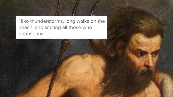 If the Greek Gods Had Tinder