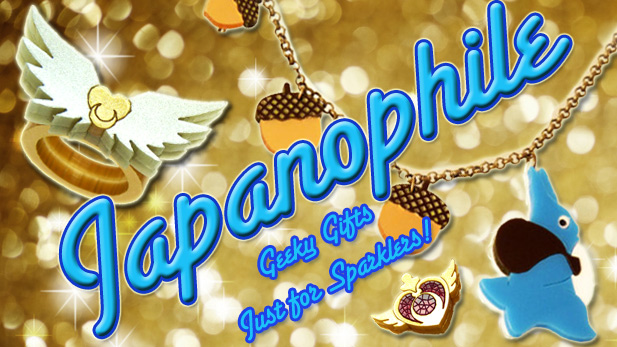 Introducing Japanophile: Geek-Tastic Jewelry With a Special Discount Just for SPARKLERS! 