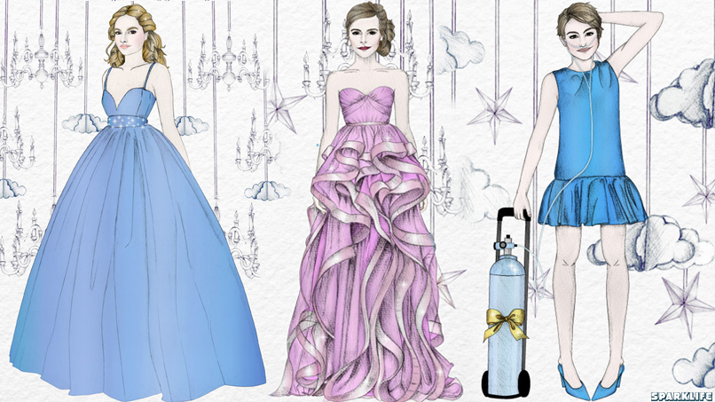 Our Favorite Fictional Heroines Go to Prom in THE MOST BEAUTIFUL SLIDESHOW WE'VE EVER SEEN